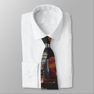 "Necktie, ""Candle & Plant Still Life"" ALarsenArtist Tie"