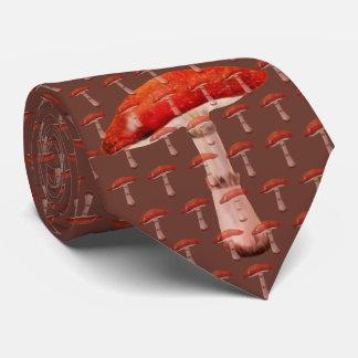 Necktie of mushroom.