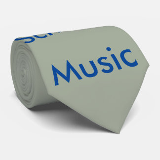 Necktie, Old School Music Neck Tie