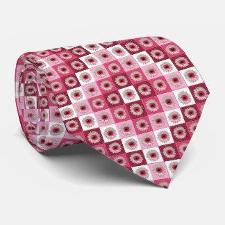 Necktie - Watermelon Lollipop Daisy Quilt