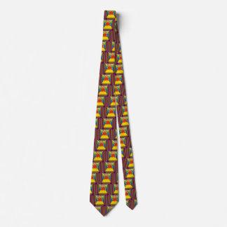 Necktie with Candy Nugget Design