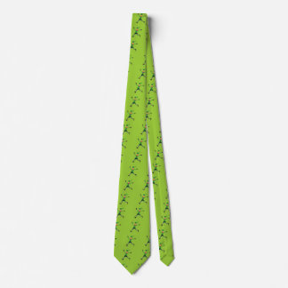 Necktie with Leprechauns