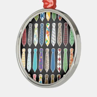 Neckties Metal Ornament