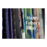 Neckties Photo Father's Day Greeting Card