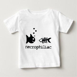 necro philiac fish icon baby T-Shirt