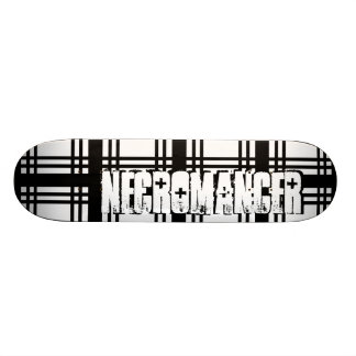 Necromancer (Black) Skateboard Deck