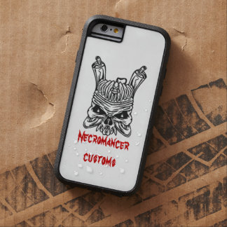 Necromancer customs Flathead Iphone 6 case