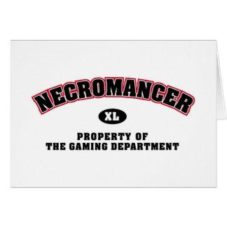 Necromancer Department Card