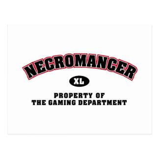 Necromancer Department Postcard