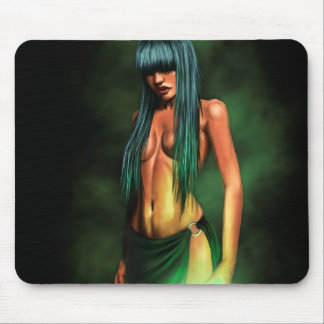 necromancer girl mouse mat mouse pad