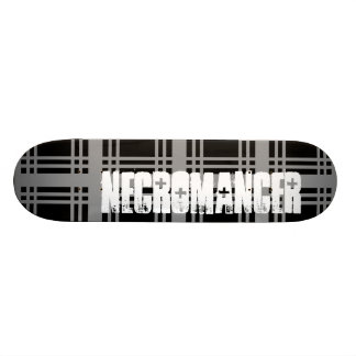 Necromancer (Grey) Skateboard Deck