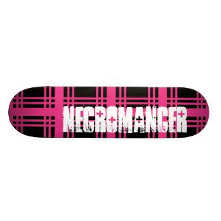 Necromancer (Magenta) Skateboard Deck