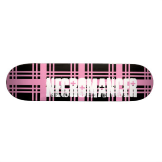 Necromancer (Pink) Skateboard Deck
