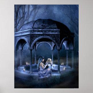 Necromancer Romance Canvas Print