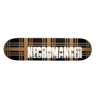 Necromancer (Tan) Skateboard Deck