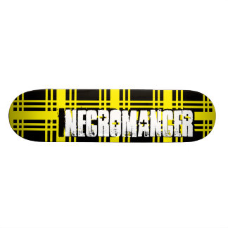 Necromancer (Yellow) Skateboard Deck