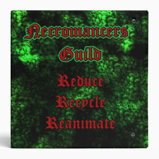 "Necromancers Guild 2"" Binder"