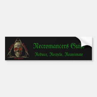 Necromancers Guild Bumper Sticker