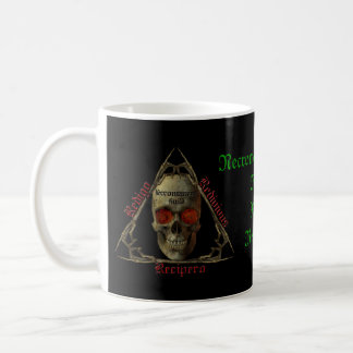 Necromancers Guild Classic White Coffee Mug