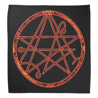 Necronomicon (burning) bandana