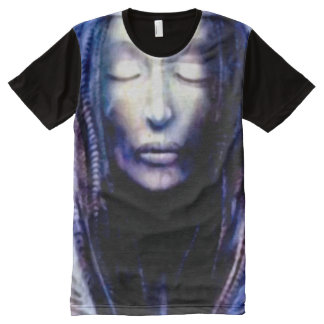 Necronomicon Cthulhu High Priestess All-Over Print Shirt