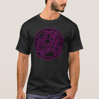 Necronomicon - Gateway Sigil Light Purple T-Shirt
