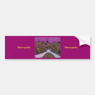 Necropolis Car Bumper Sticker