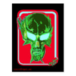 NecroSkull postcard