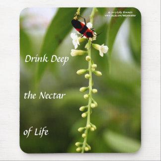 Néctar de la vida alfombrilla de ratones