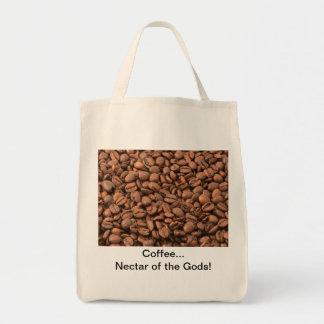 ¡Néctar del café de dioses! Bolsa Tela Para La Compra