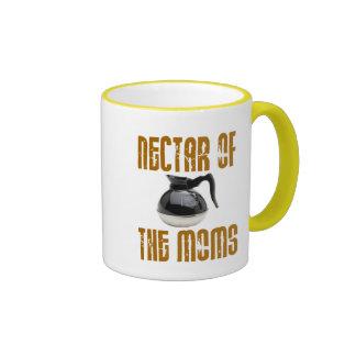 Nectar of the Moms Ringer Mug