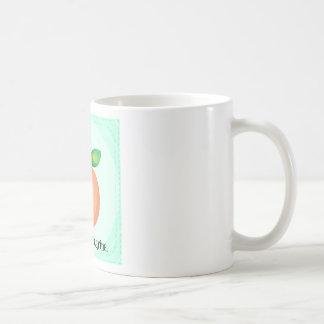 Nectarine Classic White Coffee Mug