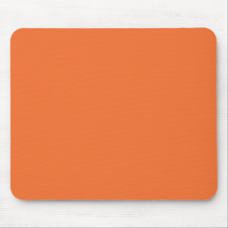 Nectarine Orange Color Trend Blank Template Mouse Pad