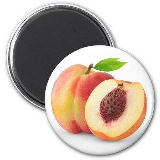 Nectarine peach magnet