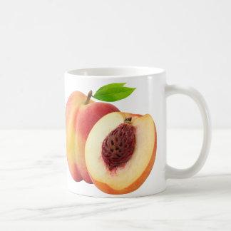 Nectarine peaches coffee mug
