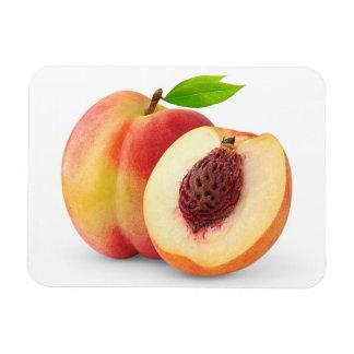 Nectarine peaches magnet