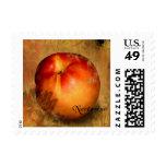 Nectarine Postage Stamp