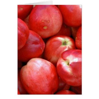 Nectarines Card