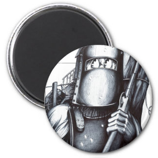 Ned Kelly 2 Inch Round Magnet