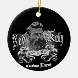 Ned Kelly - An Australian Legend Ceramic Ornament