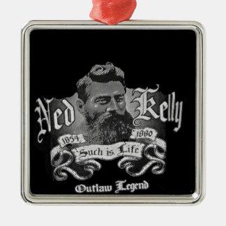 Ned Kelly - An Australian Legend Metal Ornament