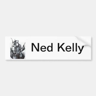 Ned Kelly Pegatina De Parachoque