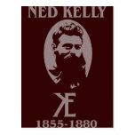 Ned Kelly Design Postcard