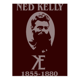 Ned Kelly Design Post Cards