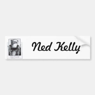 Ned Kelly (poster querido) Etiqueta De Parachoque