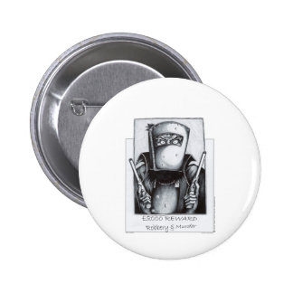 Ned Kelly (Wanted Poster) Pinback Button