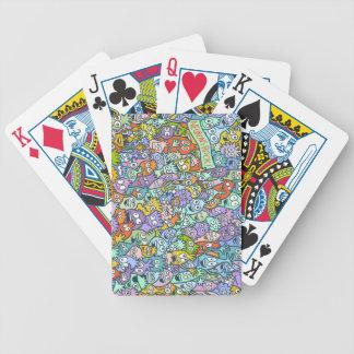 Ned los naipes de la neurona barajas de cartas