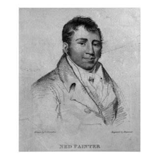 Ned Painter, engraved by Hopwood Posters