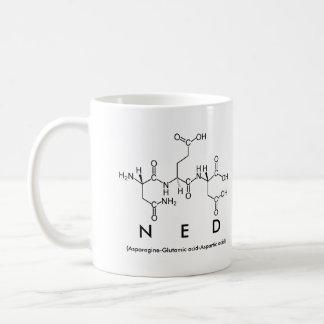 Ned peptide name mug