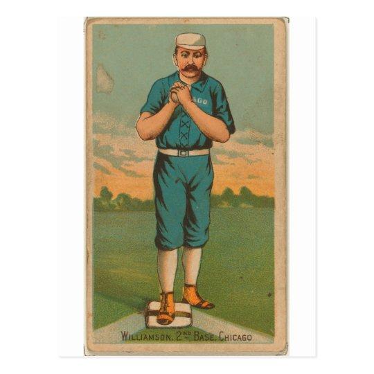 Ned Williamson, Chicago White Stockings Postcard